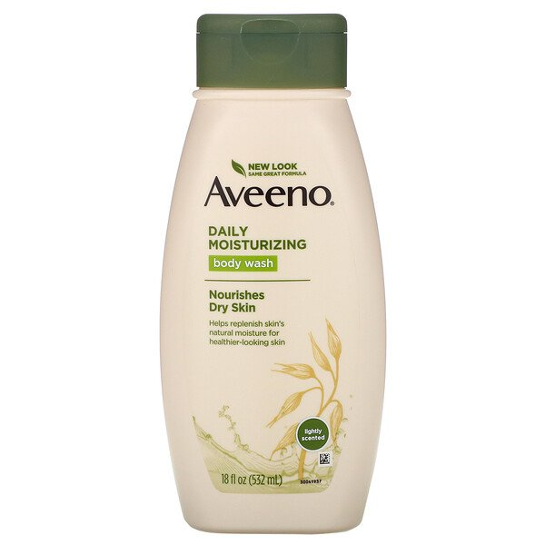 Aveeno, Active Naturals, Daily Moisturizing Body Wash, 18 fl oz (532 ml)