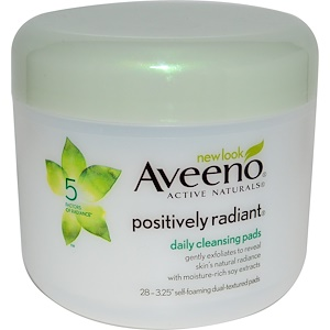 Авино, Positively Radiant, Daily Cleansing Pads, 28 Pads отзывы