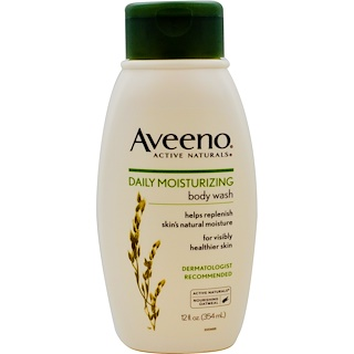 Aveeno, Active Naturals, Daily Moisturizing Body Wash, 12 fl oz (354 ml)
