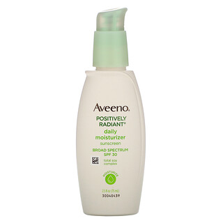 Aveeno, Active Naturals, Positively Radiant, Daily Moisturizer, SPF 30, 2.5 fl oz (75 ml)