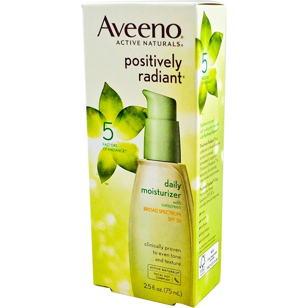 Active Naturals, Positively Radiant Daily Moisturizer, SPF30, 2.5 fl oz