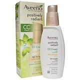 Отзывы о Aveeno, Поизитивный излучения, CC-крем, SPF 30, тусклый до светлого, 75 мл (2,5 жидких унций)