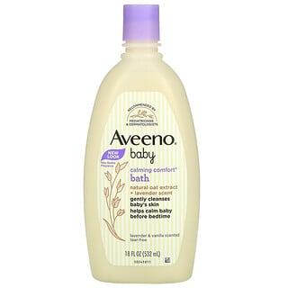 Aveeno, Baby, Calming Comfort Bath, Lavender & Vanilla, 532 ml