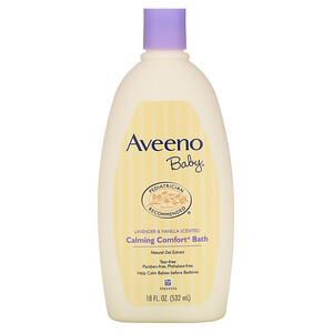 Авино, Baby, Calming Comfort Bath, Lavender & Vanilla, 18 fl oz (532 ml) отзывы покупателей