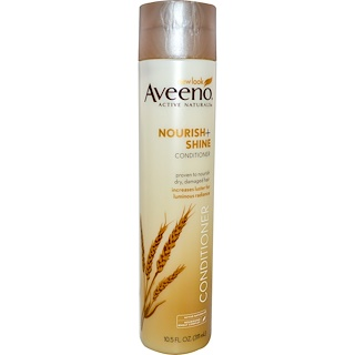 Aveeno, Active Naturals, Nourish + Shine Conditioner, 10.5 fl oz (311 ml)