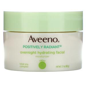 Авино, Active Naturals, Positively Radiant, Overnight Hydrating Facial Moisturizer, 1.7 oz (48 g) отзывы