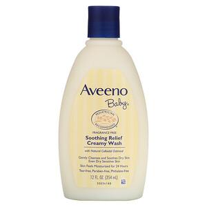 Авино, Baby, Soothing Relief Creamy Wash, Fragrance Free, 12 fl oz (354 ml) отзывы покупателей