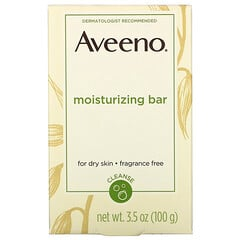 Aveeno, 潤膚燕麥保濕潔面皂,不含香精,3.5 盎司(100 克)