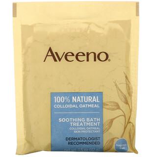 Aveeno, Active Naturals, Soothing Bath Treatment, 8ct