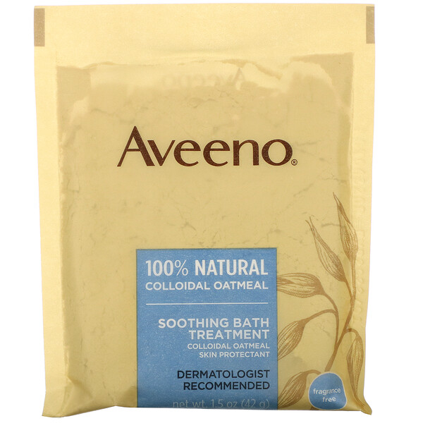 Active Naturals, Soothing Bath Treatment, Fragrance Free, 8 Single Use Bath Packets ,1.5 oz (42 g) Each.
