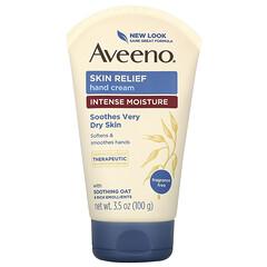 Aveeno, 舒緩護手霜,無香料,3.5 盎司(100 克)