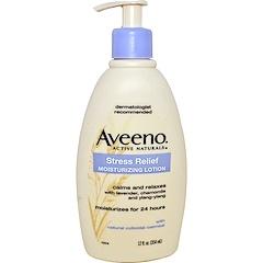 Aveeno, アクティブ・ナチュラルズ®, ストレスリリーフ・モイスチャライジングローション, 12 液量オンス (354 ml)