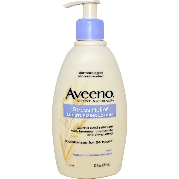 Aveeno, Active Naturals, Stress Relief Moisturizing Lotion, 12 fl oz (354 ml)