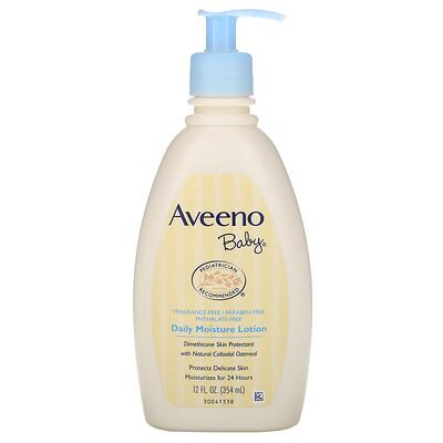 Купить Aveeno Baby, увлажняющий лосьон для ежедневного применения, без запаха, 354мл (12жидк.унций)