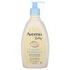 Aveeno, ベビー、デイリー・モイスチャー・ローション、無香料、12液量オンス(354 ml)