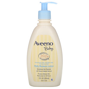 Авино, Baby, Daily Moisture Lotion, Fragrance Free, 12 fl oz (354 ml) отзывы покупателей