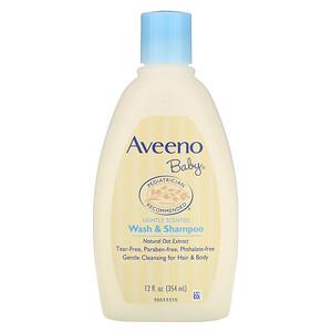 Авино, Baby, Wash & Shampoo, Lightly Scented, 12 fl oz (354 ml) отзывы