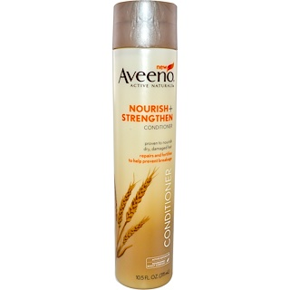Aveeno, Active Naturals, Nourish+, Strengthen Conditioner, 10.5 fl oz