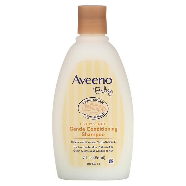 Shampoo acondicionador suave para bebé, ligeramente perfumado, 12 fl oz (354 ml)