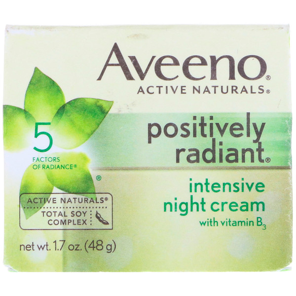 Active Naturals, Positively Radiant, Intensive Night Cream, 1.7 oz. (48 gr.)
