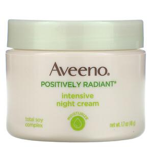 Авино, Active Naturals, Positively Radiant, Intensive Night Cream, 1.7 oz (48 g) отзывы