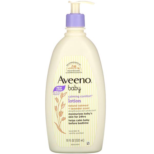 Baby, Calming Comfort Lotion, Lavender & Vanilla, 18 fl oz (532 ml)