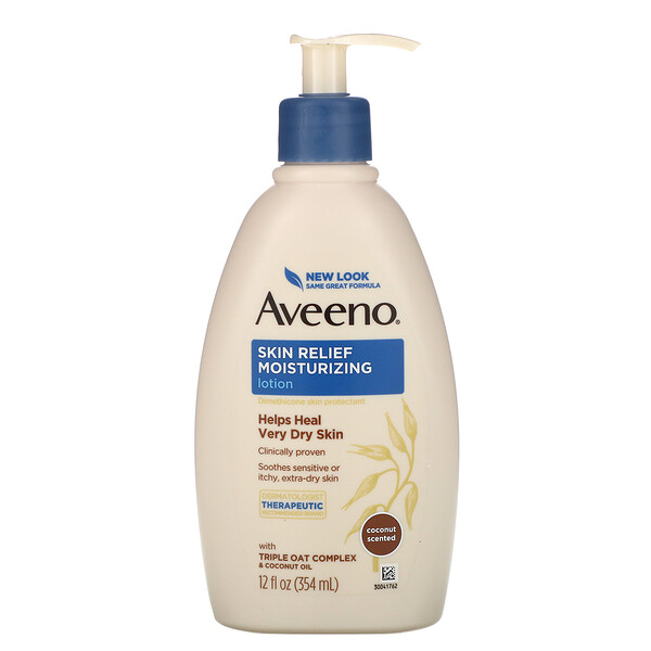 Active Naturals, Skin Relief, Gentle Scent Lotion, Nourishing Coconut, 12 fl oz (354 ml)