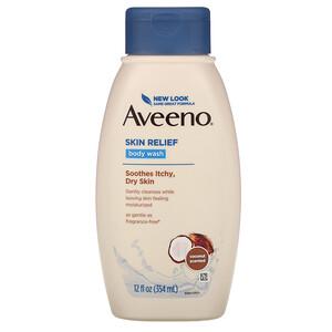 Авино, Skin Relief, Gentle Scent Body Wash, Nourishing Coconut, 12 fl oz (354 ml) отзывы покупателей