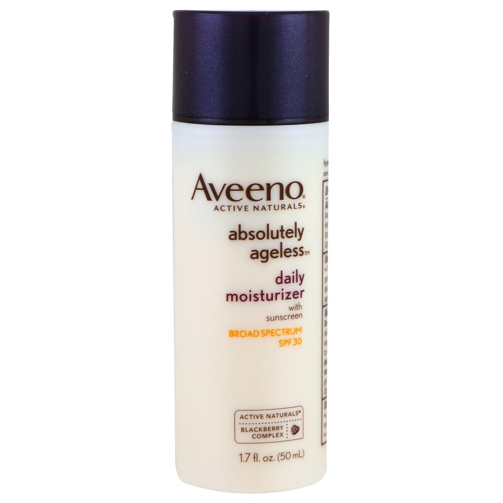 Aveeno, Absolutely Ageless, ежедневный увлажняющий крем, SPF 30, 1,7 жидк. унц. (50 мл)
