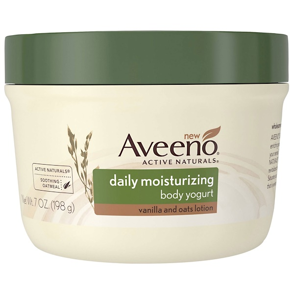 Active Naturals, Daily Moisturizing Body Yogurt, Vanilla and Oats Lotion, 7 oz (198 g)