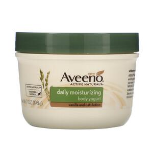 Авино, Active Naturals, Daily Moisturizing Body Yogurt, Vanilla and Oats Lotion, 7 oz (198 g) отзывы
