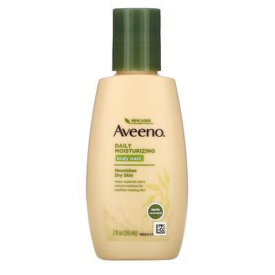 Aveeno Daily Moisturizing Body Wash, 2 fl oz (59 ml)