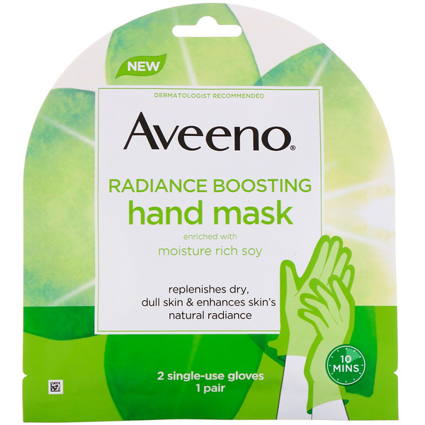 Radiance Boosting Hand Mask, 2 Single-Use Gloves