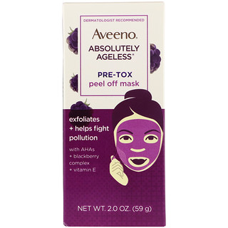 Aveeno, Absolutely Ageless, Pre-Tox Peel Off Mask, 2 oz (59 g)