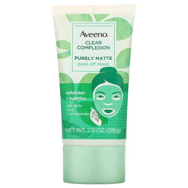 Clear Complexion, Purely Matte Peel Off Mask, 2 oz (59 g)