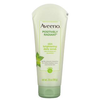 Aveeno, Positively Radiant, Skin Brightening Daily Scrub, 7.0 oz (198 g)