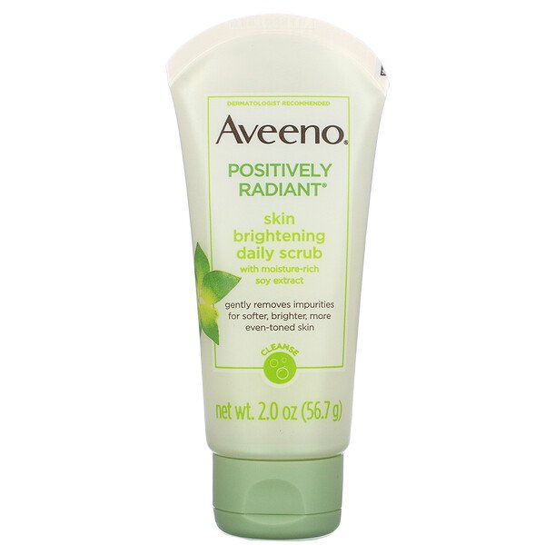Aveeno, Positively Radiant, Skin Brightening Daily Scrub, 2.0 oz (56.7 g)