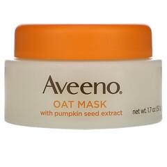 Aveeno, 南瓜籽提取物燕麥美容面膜,舒緩,1.7 盎司(50 克)