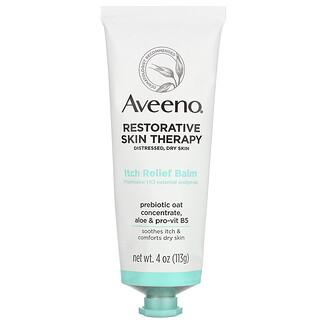 Aveeno, Restorative Skin Therapy, Itch Relief Balm, 4 oz (113 g)
