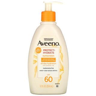 Aveeno, Protect + Hydrate, Sunscreen, SPF 60, 12 fl oz (354 ml)