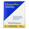 Advanced Naturals, CleanseMax, 30-Day Advanced Total Body Cleanse, 2 Bottles, 60 Vegetable Capsules Each