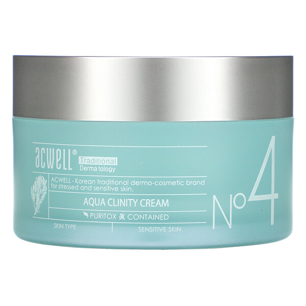 No. 4, Aqua Clinity Cream, 1.7 fl oz (50 ml)