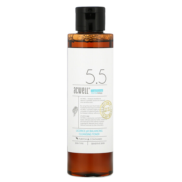 5.5 Licorice pH Balancing Cleansing Toner, 150 ml