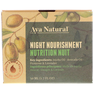 Aya Natural, Night Nourishment, 1.7 fl oz (50 ml)