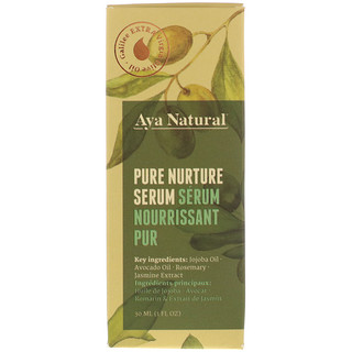 Aya Natural, Pure Nurture Serum, 1 fl oz (30 ml)