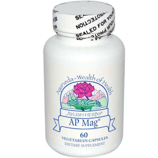 Ayush Herbs Inc., AP Mag, 60 Veggie Caps (Discontinued Item)