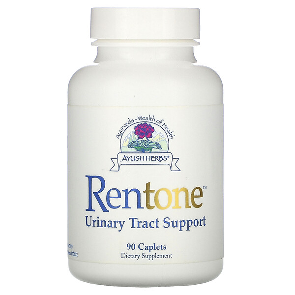 Ayush Herbs, Rentone, Urinary Tract Support, 90 Caplets (Discontinued Item)
