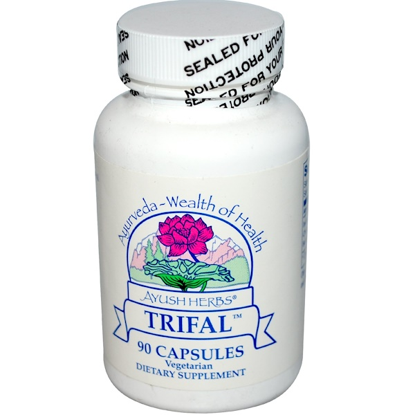 Ayush Herbs Inc., Trifal, 90 Capsules (Discontinued Item)