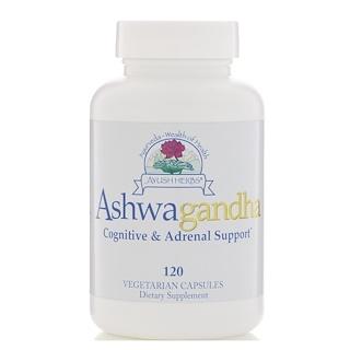 Ayush Herbs Inc., Ashwagandha, 120 cápsulas vegetarianas