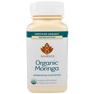 Savesta, Organic Moringa, 60 Veggie Caps